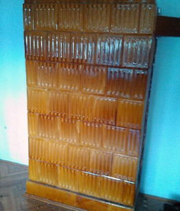 Eladó cserépkálhya romhányi redőnyös mintával