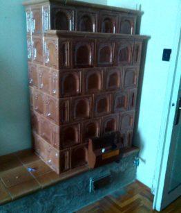eladó erdélyi bontott cserépkályha